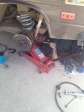 Replacing the rear shocks
